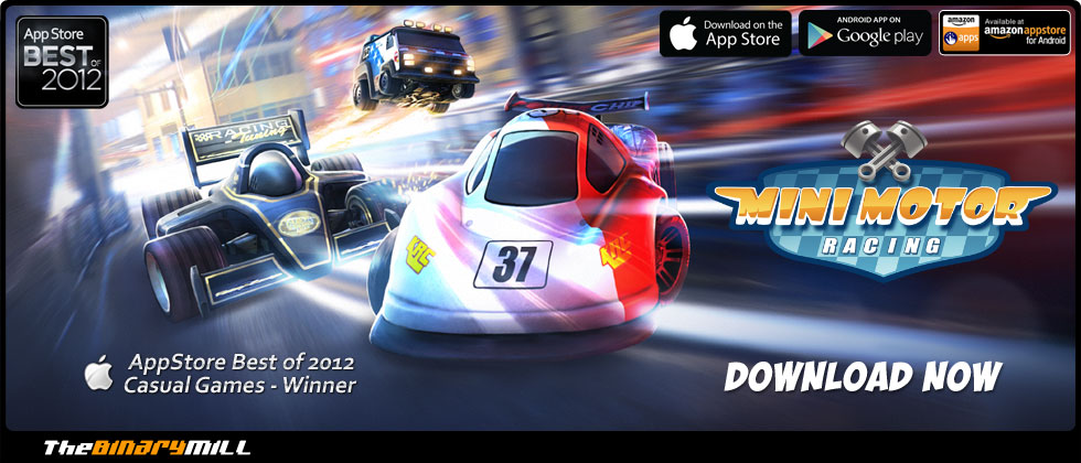Mini Motor Racing - for iOS