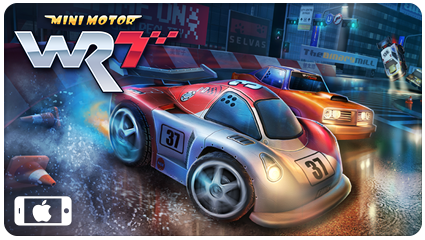 Mini Motor Racing WRT - Out Now on iPhone
