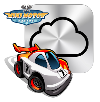 Mini Motor Racing - with the Clouds on iOS 5