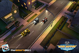 Mini Motor Racing Screenshot for iPhone